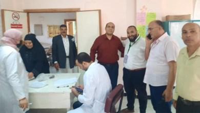 انتظام عمل القافلة الطبية بقرية الكراكات في مدينة بيلا