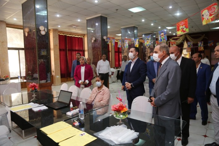 محافظ كفر الشيخ يفتتح المرحلة الثانية من منحة بيردج التأهيلية