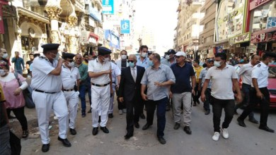 مدير أمن الدقهلية يقود حملة مكبرة لشرطة المرافق بالمنصورة