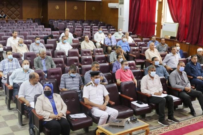 المجلس التنفيذي بكفر الشيخ يوافق على تخصيص أراضي لإقامة مشروعات خدمية
