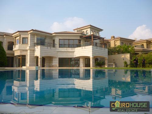 Cairo House Real Estate Egypt Residential Villa In Katameya Heights
