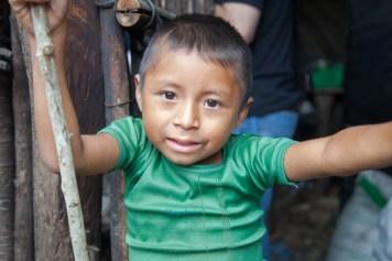 A young boy in San Jose de las Lagrimas, Guatemala