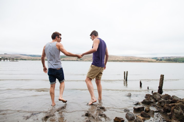 Tomales Bay Engagement Session Luke and Drew