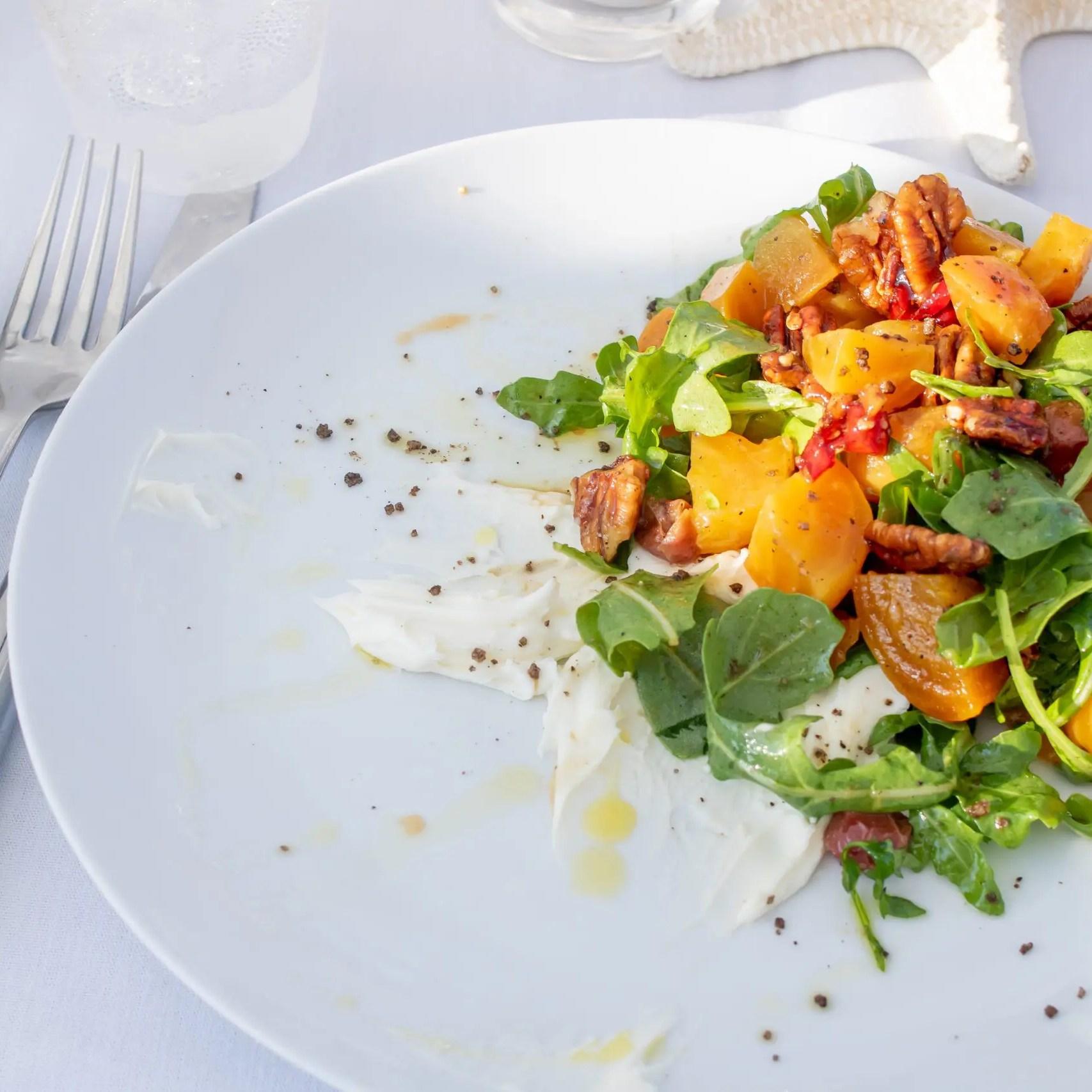 beet salad Dunes Winnetu