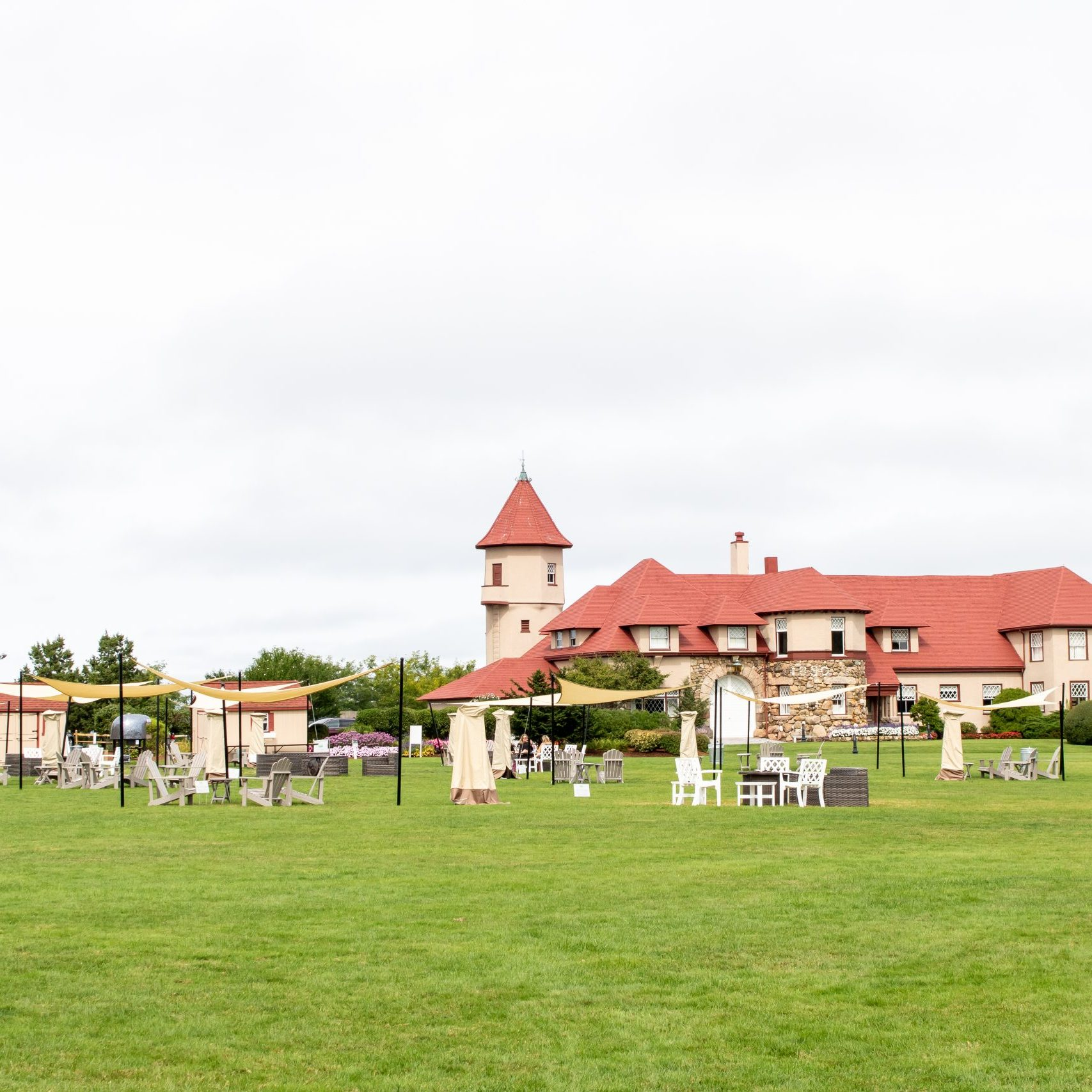 The Mansion at Ocean Edge Resort in the Fall