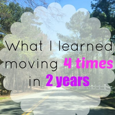 What I've Learned Moving FOUR Times In TWO Years