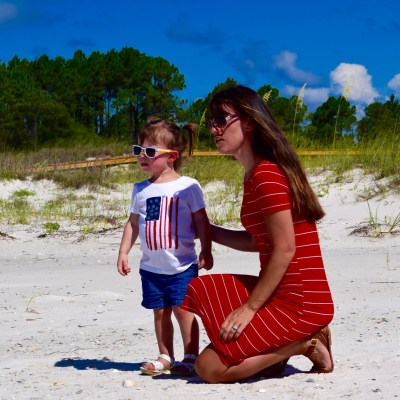 Mommy Style Monday: Red, White, & Blue