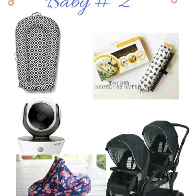 Registering For Baby # 2 ( and other Goodies ! )