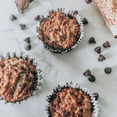 Coconut Chocolate Chip Banana Muffins
