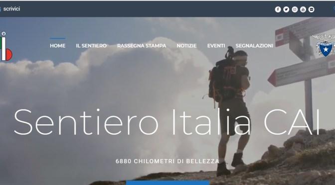 """🎄On line il sito del """"Sentiero Italia CAI""""🎄"""