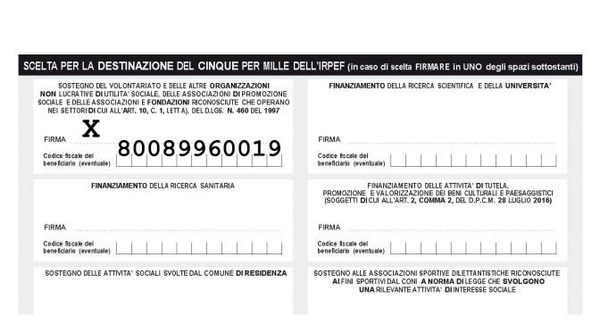 SOSTIENI LA TUA SEZIONE … 5×1000 a favore dell'UGET