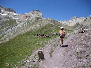 Arrivando al Col de la Ponsonni+¿re