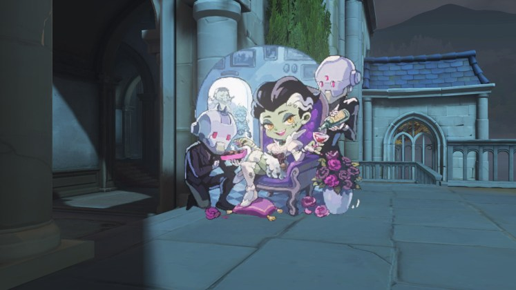 Spray Sombra Bride Halloween Terror 2018 Overwatch
