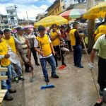 Ex presidiarios de penal Huacariz participaron en campaña de limpieza pública
