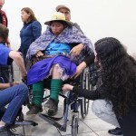 Entregan 104 sillas de ruedas para personas con discapacidad
