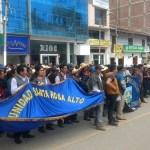 Protestas ante la demora de la ejecución de proyecto de saneamiento en Cuyumalca