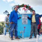 Gold Fields mejora el sistema de agua potable en centro poblado Morán Pata