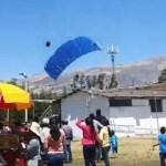Paracaidista de la FAP muere tras caer sobre techo durante un entrenamiento