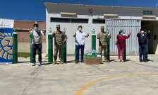 """Foto de <Gold Fields dona balones de oxígeno a """"Cajamarca respira"""" y al Ejército Peruano"""