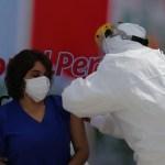 Luisa Ortiz es la primera médico inmunizada contra la Covid en Cajamarca