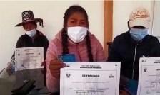 Foto de <Miembros de mesa en Llusco-Cusco piden que Fuerza Popular se rectifique