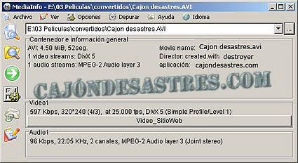 mediainfo codecs multimedia