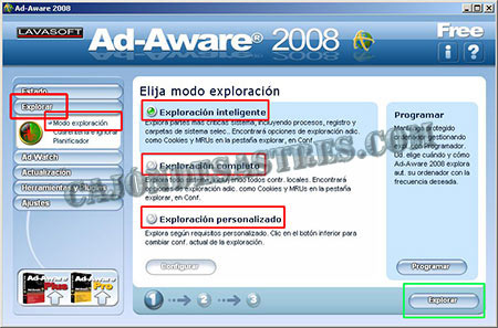 antiespias ad-aware gratuito escanear