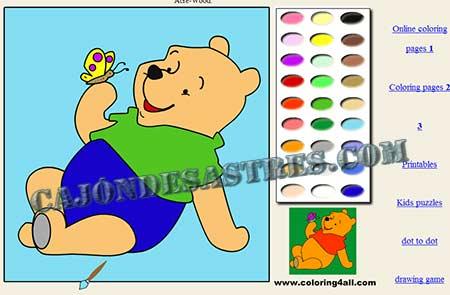 Colorear dibujos infantiles con Coloring4All | Cajón desastres
