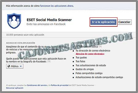 eset proteccion facebook