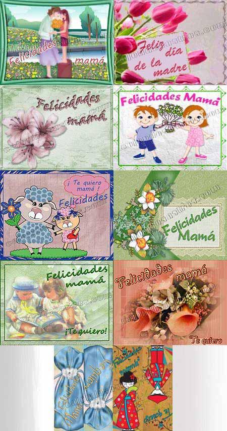 descargar gratis tarjetas Dia de la Madre