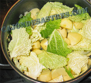 receta de berzas con patatas