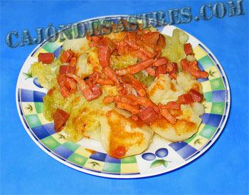 receta col con patatas