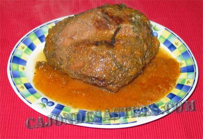 receta rollo de carne