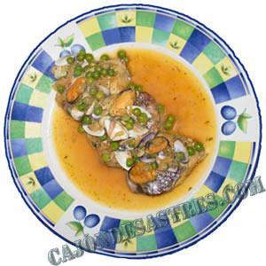 pescado en salsa marinera
