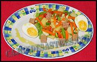 receta de ensalada campera