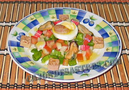 receta pipirrana de marisco