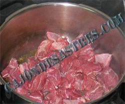 receta carrillada de cerdo en salsa