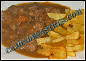 carrillada cerdo en salsa