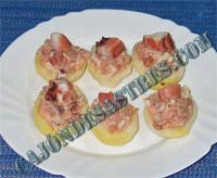 receta dee patatas con pulpo y atun