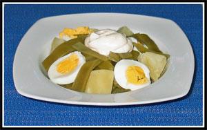receta de judias verdes con mayonesa