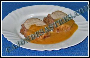 Receta de lomo en salsa agridulce