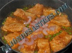 receta de pescadilla rebozada en salsa