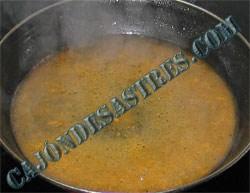 salsa de mostaza y secreto de cerdo
