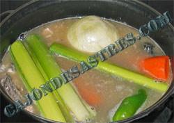 Receta de sopa de salmon