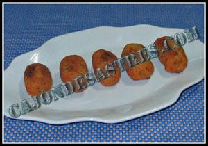 receta de croquetas de setas y carne  de cocido