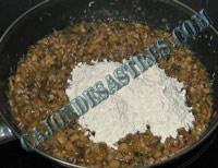 croquetas de setas y carne de cocido
