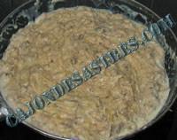 receta croquetas de setas y carne cocido