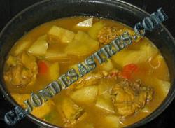 receta de guiso de pollo con patatas