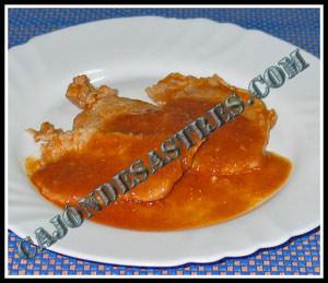 receta de lomo en salsa de jamón serrano