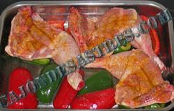 pollo asado con curry